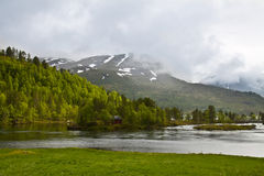 Norway scenery Stock Images
