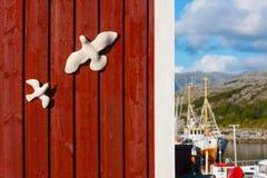 Norway ship Royalty Free Stock Image