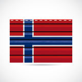 Norway siding produce company icon Stock Photo