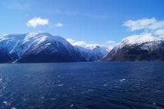 norway sognefjord Royaltyfri Foto