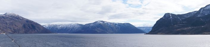 norway sognefjord Arkivbilder