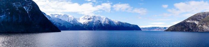 norway sognefjord Royaltyfria Bilder