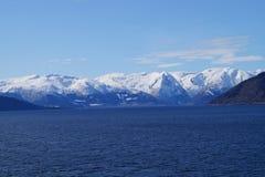 norway sognefjord Arkivfoton