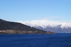 norway sognefjord Royaltyfria Foton
