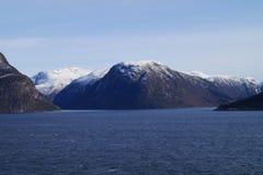 norway sognefjord Royaltyfri Fotografi