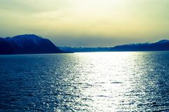 norway sognefjord Arkivbild
