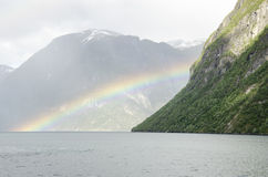 Norway - Somewhere over the rainbow Stock Photos