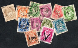 Norway stamps Stock Image