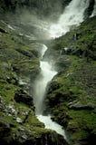 norway stigfossen vattenfallet fotografering för bildbyråer