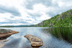 Norway, stunning landscape Royalty Free Stock Images