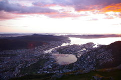 Norway sunshine royalty free stock image