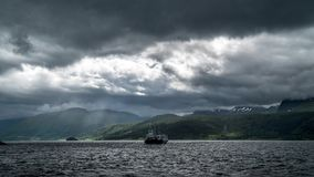 Norway. Time lapse taken in amazing Norway stock video footage