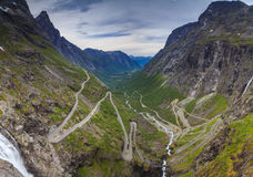 Norway-Troll trail Royalty Free Stock Photography