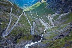 Norway - Trollstigen Stock Photo