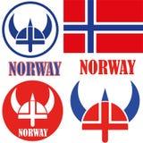 Norway. Vector illustration (EPS 10 royalty free illustration