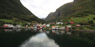Norway village Royalty Free Stock Photos
