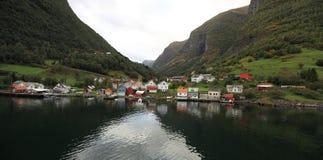 Norway village Royalty Free Stock Photos