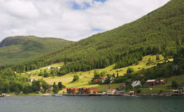 Norway village Stock Photo