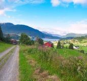 Norway Village Stock Image