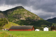 Norway village Stock Photography