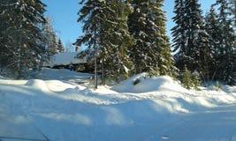 norway vinter arkivbilder