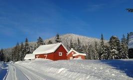 norway vinter fotografering för bildbyråer