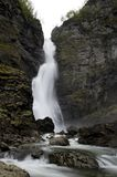 Norway waterfall Royalty Free Stock Photography