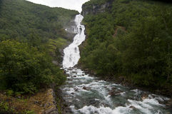 Norway, waterfall Stock Images