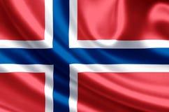 Norway flag illustration vector illustration
