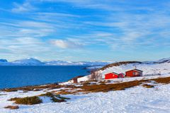 Norway in winter Royalty Free Stock Images
