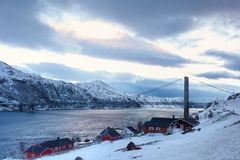 Norway in winter royalty free stock photography