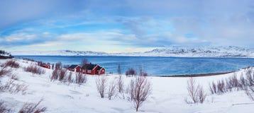 Norway. Winter Royalty Free Stock Photos