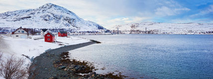Norway. Winter Royalty Free Stock Images