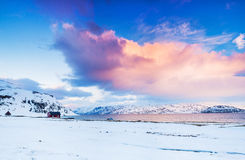 Norway. Winter stock photos