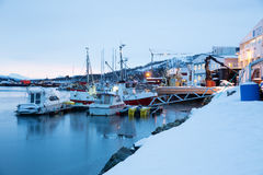 Norway in winter - trip near Tromso Stock Images