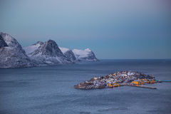 Norway in winter - trip to Senja Stock Photo