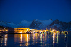 Norway in winter - trip to Senja Stock Photography