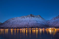 Norway in winter - trip to Senja Royalty Free Stock Photos