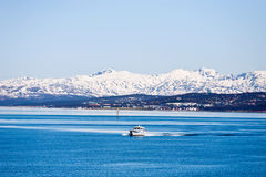 Norways coast Stock Photo