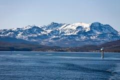 Norways coast Royalty Free Stock Photos