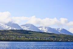 Norways coast Royalty Free Stock Image