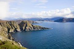 Norways coast royalty free stock photo