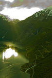 Norways fjord Stock Photos