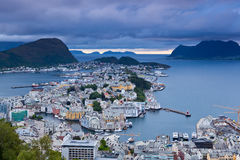 Norwegen - Alesund Lizenzfreies Stockfoto
