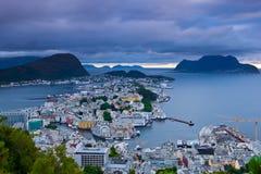 Norwegen - Alesund Stockfoto