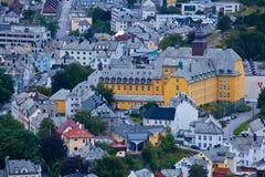 Norwegen - Alesund Lizenzfreies Stockbild