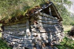 Norwegen - Ansicht des alten Hauses Lizenzfreie Stockfotografie