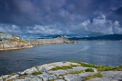 Norwegen - Atlanterhavsvegen Lizenzfreie Stockfotografie