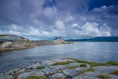 Norwegen - Atlanterhavsvegen Stockfoto