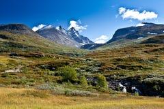 Norwegen - Bergblick Lizenzfreie Stockfotos
